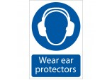 'Ear Protectors' Mandatory Sign