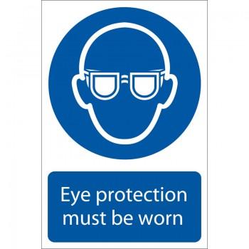 'Eye Protection' Mandatory Sign