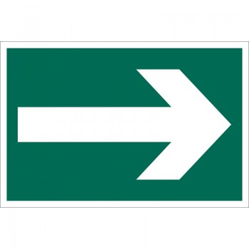 'Arrow Symbol' Safety Sign