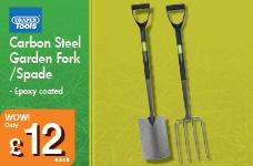 Carbon Steel Garden Spade – Now Only £12.00